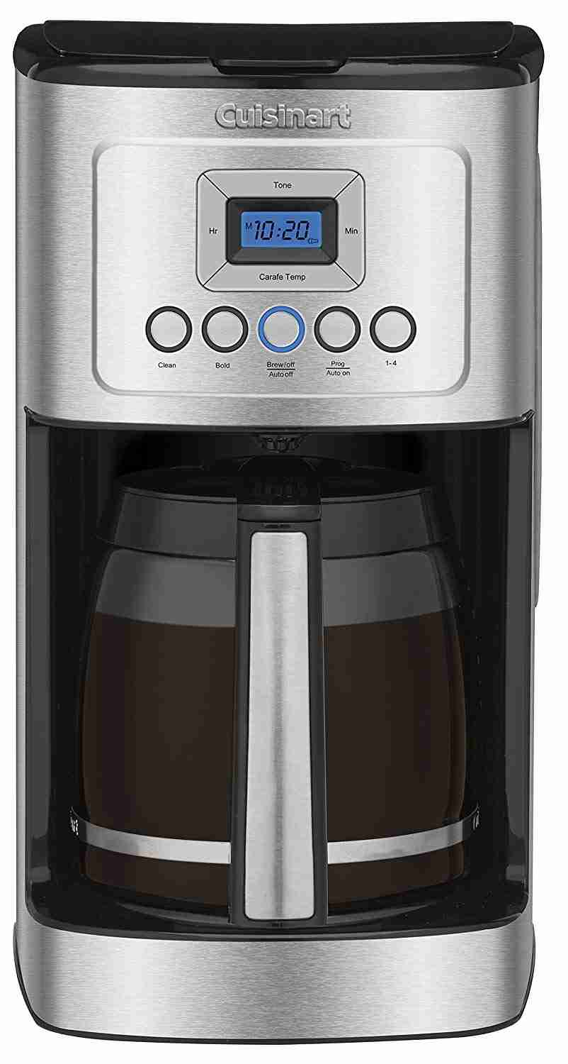 Cuisinart chrome coffee maker for 14 cups of coffee