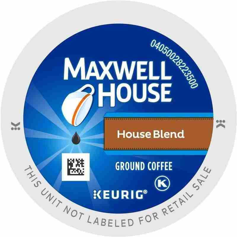 Maxwell house house blend k-cup.